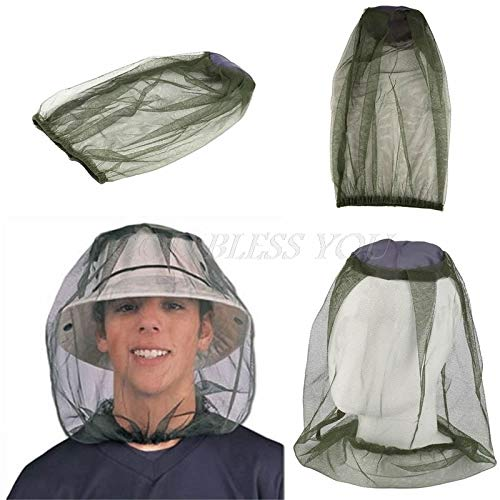 Travel Mosquito Net - Midge Bug Camping Protector Hat Face Mesh Mosquito Head Insect Travel Net - Twin Travel Crib Nets Mosquito Mosquito Door Fret Protector Head Adult Canopy Black Plaid