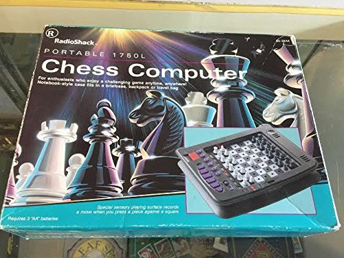 Portable Chess Computer (Radio Shack Portable 1750L Sixty Four Level Chess Computer (endorsed by Garry Kasparov - The World Champion). Includes Reproduced Instructions in English and Spanish)