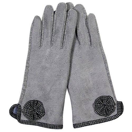 ローズマリー?コレクションレディースSnug Fitフリース裏地冬スマート手袋