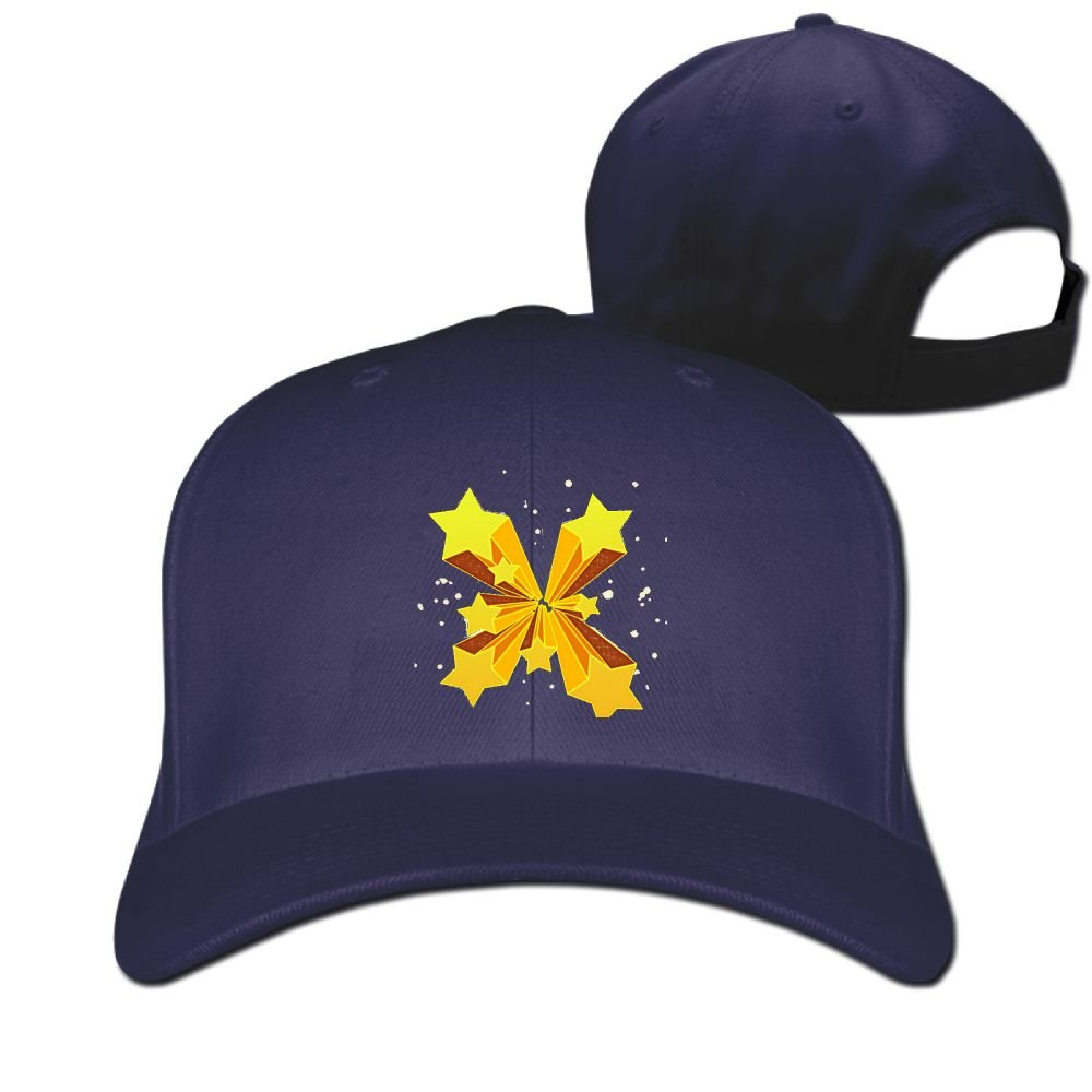7a7ad3a25a The light of the stars spreads cap hat cotton adjustable size at amazon  mens clothing store