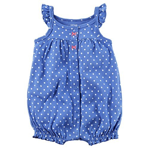 075f4016c Galleon - Carter's Baby Girls' Butterfly Snap Up Romper 24 Months