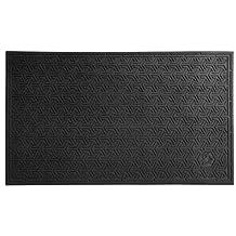 Andersen 554 Black Nitrile Rubber SuperScrape Eco Entrance Mat, 3-Feet Length X 2-Feet Width, for Indoor