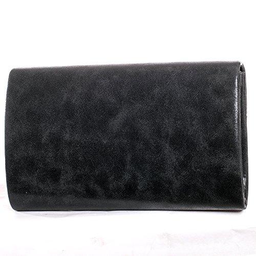 Métallique LOOK sac soirée pochette Clum Sac 02 enveloppe sac Bandoulière Noir de Gadzo à qSHnzw