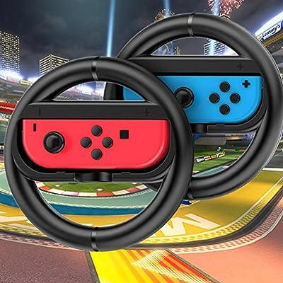 Joy-con - Juego de 2 Volantes para Nintendo Switch (2 Unidades ...