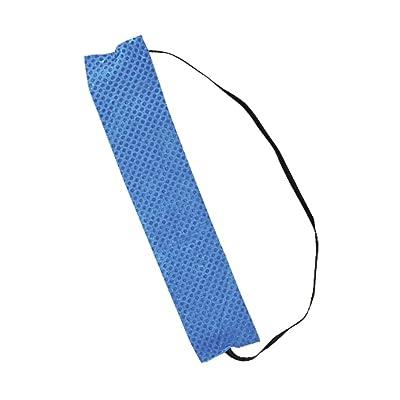 100PCK-Miracool PVA Sweatbands - PACKED 10 PER BAG - BLUE