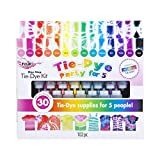 Tulip one-step tie-dye One Step Tie-Dye 15-Color Party Kit, Standard, Rainbow: more info