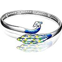 Cloisonne The queen Peacock Bracelet Handmade Women's Gift Friendship Bracelets
