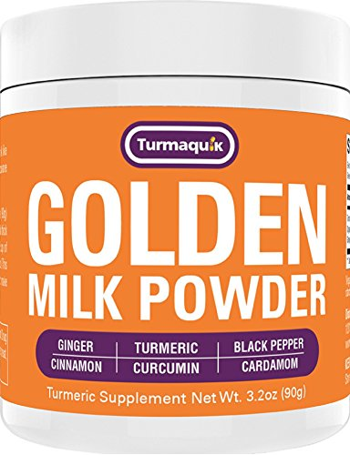 Golden Milk Powder (90 Servings) Turmeric 6 Superfood Blend