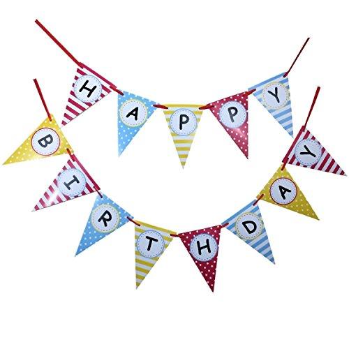 Bobee Birthday Bunting Banner Decorations