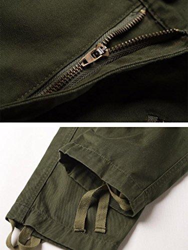 Way Militaire Vert Homme Must Cargo Pantalon UgwCXqA