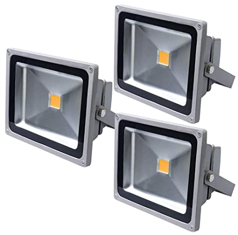 Led Spotlights Blanco Ip65 Focos X Cálido Auralum® 50w Exterior 3 De SUMVqGzp
