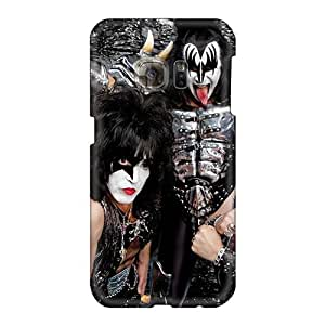MansourMurray Samsung Galaxy S6 Great Hard Cell-phone Cases Custom Vivid Kiss Band Pictures [JQv18573LxVa]
