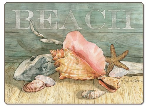 CounterArt-Beach-Shells-Hardboard-Placemat-Set-of-2