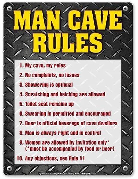 BPG0857 LANNY/'S GARAGE TOOL RULES Rustic Shield Sign Man Cave Decor Gift