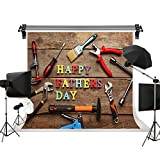 Kate 10x6.5ft/3x2m(W:3m H:2m) Father's Day Backdrops Wood Background Photography Studio Gifts Tools Photo Studio Props