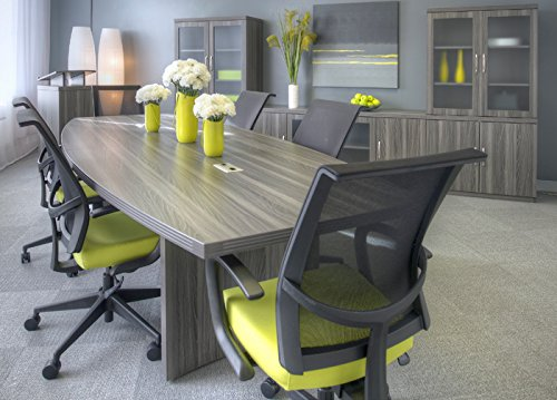 Ft Ft MODERN CONFERENCE TABLE With Power And Data Meeting - 18 ft conference table
