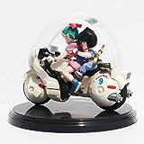 New Goku Son motorcycle Super Saiyan Dragon Ball Z action figures,Dragonball PVC 8cm collection Toy Figures gift