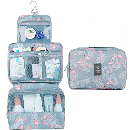 Travel Hanging Toiletry Wash Bag Makeup Cosmetic Organizer for Women Girls Kids Waterproof