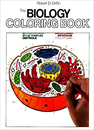 The Biology Coloring Book HarperCollins Books Not Childrens Amazoncouk Robert D Griffin 8601419093199