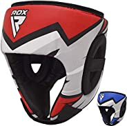 RDX Kids Headgear for Boxing, MMA Training, Junior Head Guard for Cheeks, Forehead and Ear Protection, Headgua