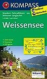 Weißensee: Wanderkarte mit Aktiv Guide, Panorama, Radwegen, alpinen Skirouten und Loipen. GPS-genau. 1:25000 (KOMPASS-Wanderkarten, Band 60)