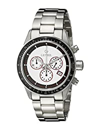 Gevril Men's A2113 Tribeca Analog Display Quartz Silver Watch