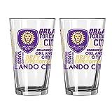 Boelter Brands MLS Orlando City SC Spirit Pint, 16-ounce, 2-Pack