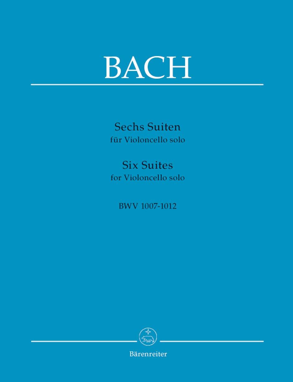 Six Suites pour Violoncelle Bwv 1007-1012 (Alemán) Folleto – 19 jun 2018 Bach Jean Sebastien Bärenreiter B00006M06L BA320