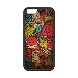 Generic Case Monster Pattern For iPhone 6 4.7 Inch Y6G664 8281