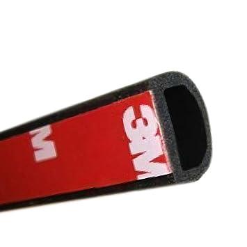 E Support/™ 4M*14mm*12mm Autot/ürdichtung Autot/ür T/ürdichtung Kantenschutz Gummidichtung D Stil KFZ Auto