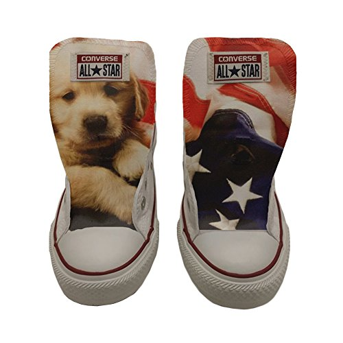 Slim Puppy Customized personalizados Artesano Producto zapatos All Star Converse qa70UU