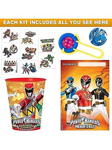 [Costume Supercenter BB102546 Power Rangers Favor Kit] (Tv Show Based Halloween Costumes)
