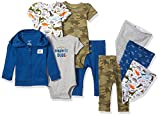 Carter's Baby Boys' 9-Piece Basic Gift Set, Navy Dino 12 Months