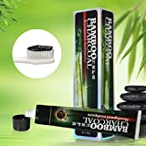 MEJOY Black Bamboo Charcoal Toothpaste Activated Charcoal Toothpaste Health Fresher Breath Whitening Toothpaste