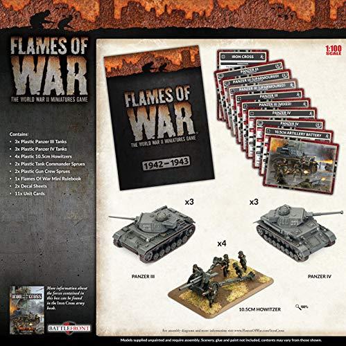 Flames of War: Mid War: German: Dietrich's Ghosts Army Box (GEAB16)