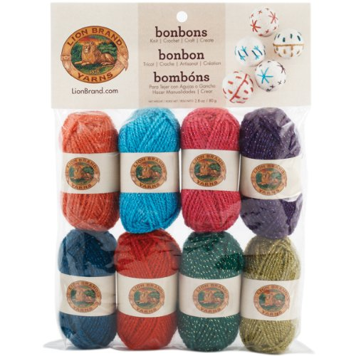 Price comparison product image Lion Brand Yarn 601-660 Bonbons Yarn, Celebrate