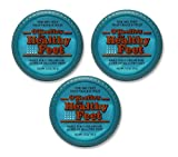 : O'Keeffe's for Healthy Feet Foot Cream, 3.2 oz, Jar, (Pack of 3)