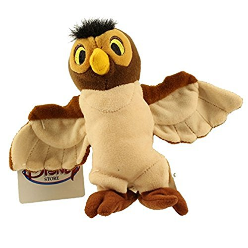 Disneys Wise Old Owl From Winnie the Pooh Bean Bag Beanie Plush Doll Toy by Disney ()