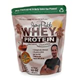 Jay Robb Whey Protein, Chocolate 12 oz (pack of 2)