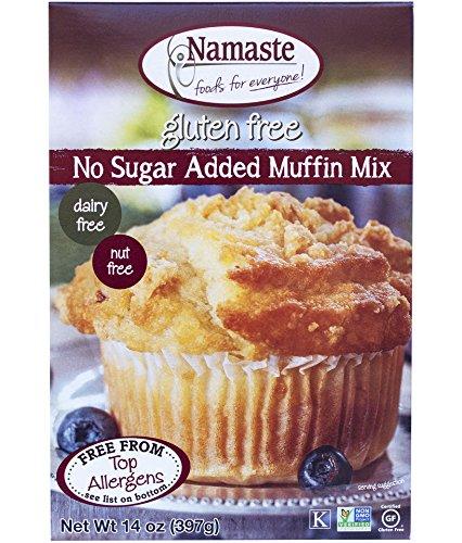 (Namaste Foods - Gluten Free No Sugar Added Muffin Mix - 14 oz (pack of 2))