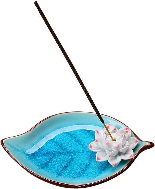 Ceramic Incense Cone Ash Catcher Tray Porcelain Chinese Style Handmade Incense Burner Bowl Incense Stick Burner Holder