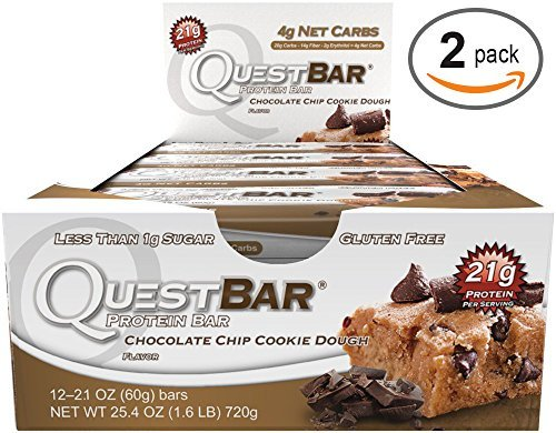 quest bar chocolate cookie dough - 8