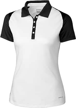 Cutter & Buck Women's CB Drytec Short Sleeve Madalyn Polo - White