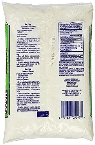 Goya Masarepa White 24 Ounce (Pack of 12)