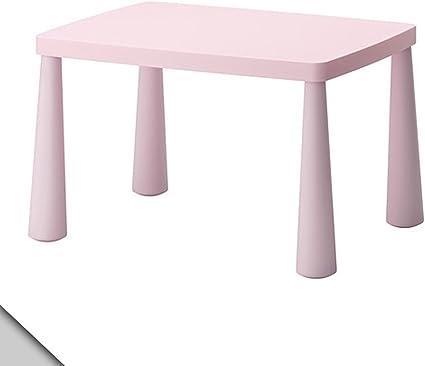 Mammut IKEA Mesa de los niños, luz de Color Rosa: Amazon.es: Hogar