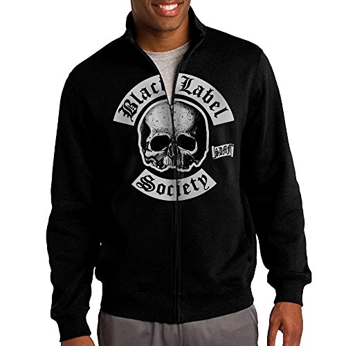 Men's Black Label Society Flag Full-Zip Jacket Sweatshirt