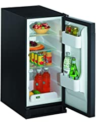 U-Line 1115RS00 3.3 Cu. Ft. Stainless Steel Undercounter Built-In Compact Refrigerator - Energy Star - Right Hinge