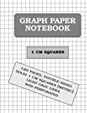 img - for Graph Paper Notebook: 1 cm squares (metric, 120 pages) book / textbook / text book