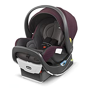 Chicco Fit2 Infant & Toddler Car Seat – Cienna, Black/Tan