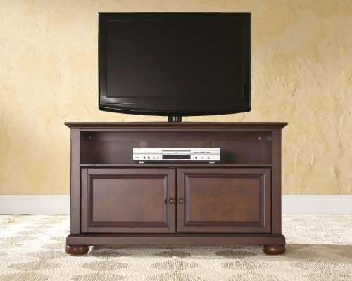 Crosley Furniture Alexandria 42-inch TV Stand - Vintage Mahogany - Mahogany Tv Cabinets